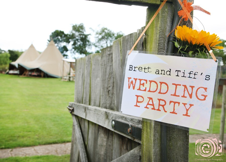 Brett & Tiff's Wedding at Talton Lodge